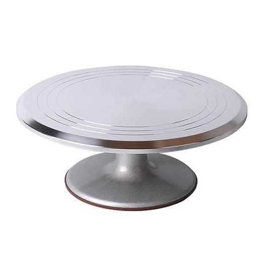 Cake turntable Tocadiscos de aleación de Aluminio para decoración ...
