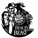 Beauty and the Beast Beautiful Vintage Vinyl Clock Gift Review