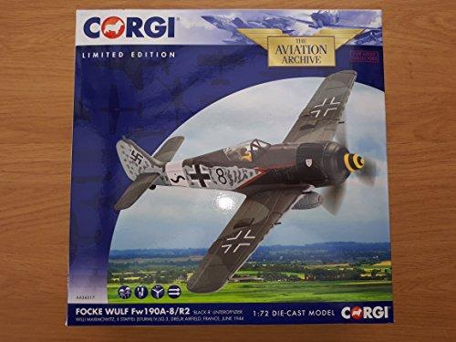 Corgi 1:72 FOCKE WULF FW190A-8/R2 'BLACK 8' UNTEROFFIZIER WILLI MAXIMOWITZ 1944 ()