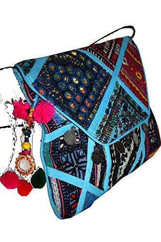 Multi Textiles Pochette Asian pour Tribal femme Color 5TAXwZq