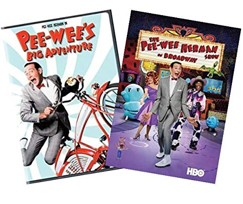 Pee-Wee's Big Adventure & The Pee-wee Herman Show on Broadway - 2 PACK DVD