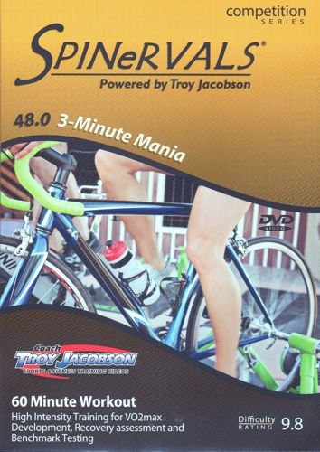 Spinervals 3-Minute Mania 48.0 DVD (Dvd Results Fitness Cycling)