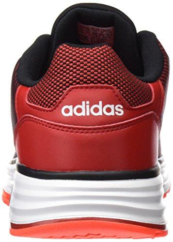 Adidas Cloudfoam Flyer, Scarpe da Ginnastica Uomo, Rosso (Escarl/Negbas/Rojsol), 42 EU