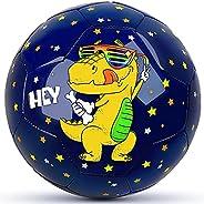 Kids Soccer Ball, Champhox Children Sports Ball Cartoon Design Toddlers Recreative Indoor Outdoor Ball for Kid