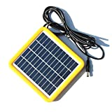 Generic New 2W 12V Solar Cell Solar Module Polycrystalline DIY Solar Panel System For 9V Battery Charger+DC 5521 Cable 3M