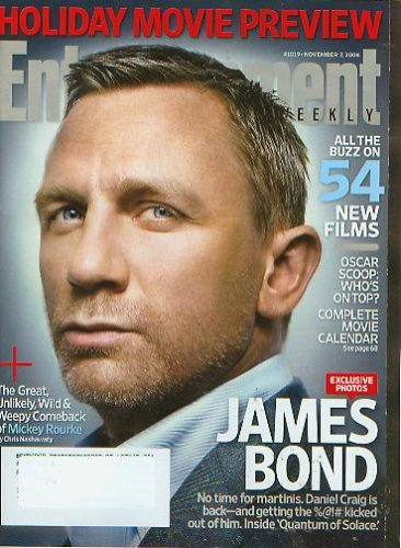 Download Entertainment Weekly November 7 2008 Daniel Craig James Bond (#1019) ebook