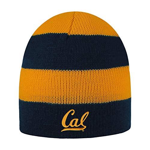 Shop College Wear University of California Berkeley Golden Bears Beanie Hat Rugby- Charcoal