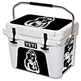 MightySkins Skin For YETI 20 qt Cooler - Monkey Boy | Protective, Durable, and Unique Vinyl Decal wrap cover | Easy To Apply, Remove, and Change Styles | Made in the USA