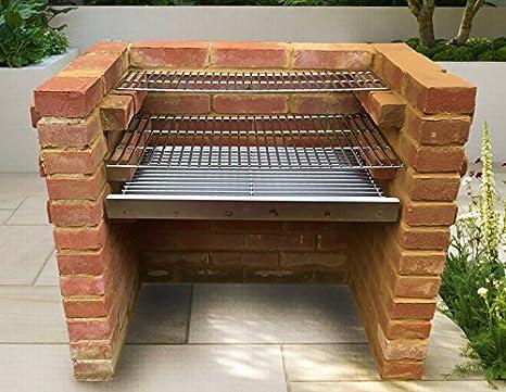 SunshineBBQs - Kit de barbacoa de ladrillo de acero ...