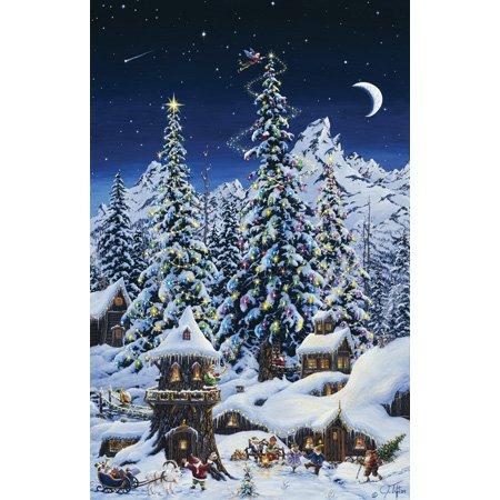 Puzzle 1.000 Teile Weihnacht bei den Zwergen 36516 von SunsOut