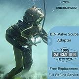 DIN Valve Scuba Adapter, Paintball Scuba Fill