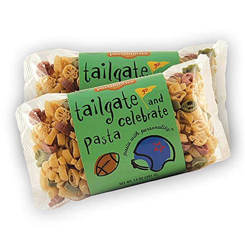 Pastabilities - Tailgate Football Pasta - 14 oz. (Pack of 2) (Best Tailgate Side Dishes)
