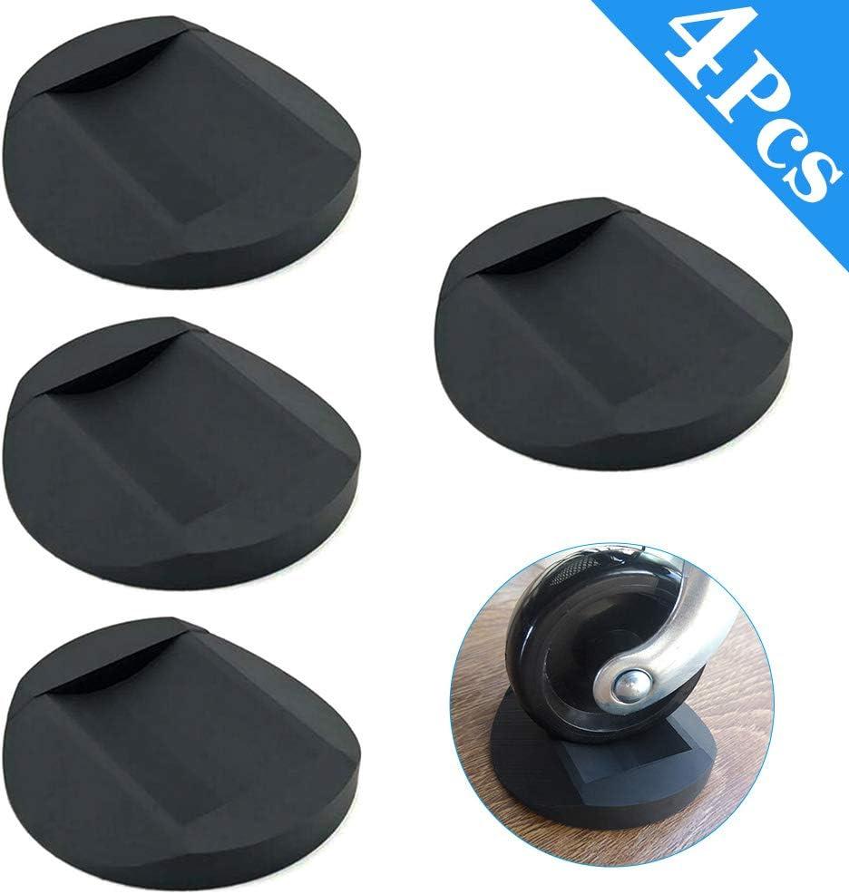 Tazze di Ricino per Mobili 4 Pezzi Protezioni per il Pavimento Delle Gambe Della Sedia Piedini in Gomma Sottobicchieri per Mobili Antiscivolo