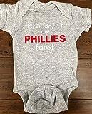 My Daddy and I are Phillies fans baby onesie Philadelphia Phillies onesie Bryce Harper