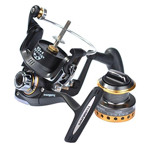 Yoshikawa Fishing Spinning Reel Saltwater 5.5:1 11 HV Stainless Ball Bearings SY5000
