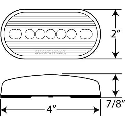 Optronics A-66RBP Red Replacement Lens: Automotive