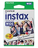 Fujifilm instax Wide Instant Film, 20 Exposures, White, Old...