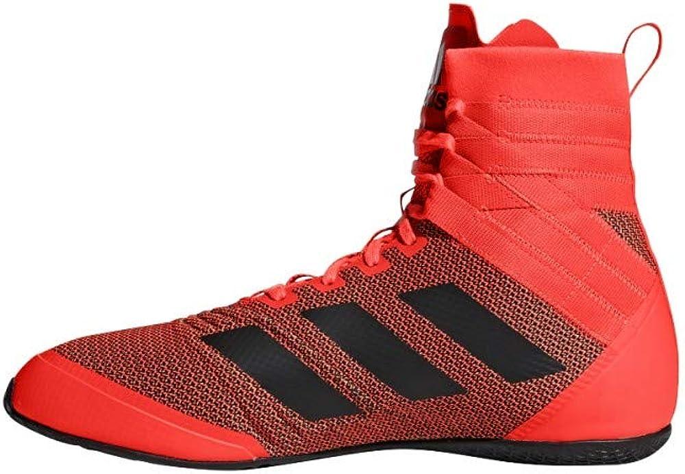 addias Hombre Speedex 18 Zapatos de Boxeo Roja