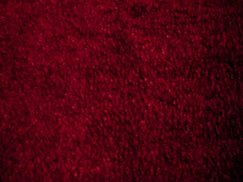 Guardian Platinum Series Indoor Wiper Floor Mat, Rubber with Nylon Carpet, 6'x8', Burgundy by Guardian (Image #1)