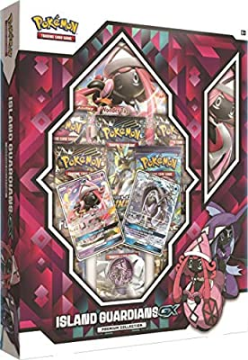Pokémon Island Guardians GX Premium Collection Box and Mega Powers Collection Box Trading Card Game Bundle, 1 of Each