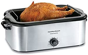 Hamilton Beach 32229 22-Quart Roaster Oven, Stainless Steel (Discontinued)
