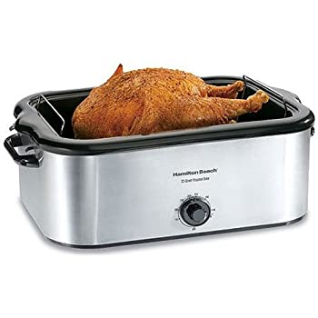 Beautiful Hamilton Beach 32229 22 Quart Roaster Oven, Stainless Steel (Discontinued)