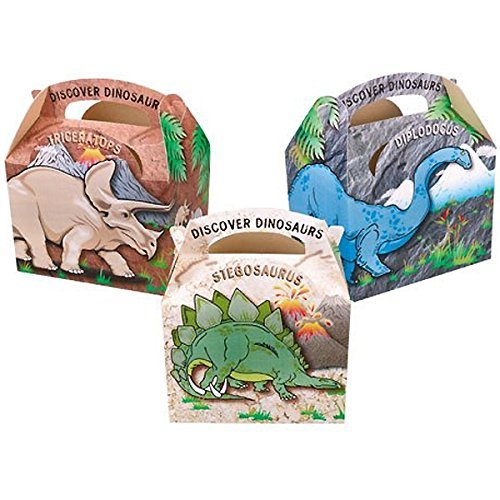 Amazon.com: Dinosaur Party - Dinosaur Party Boxes x 5: Toys ...