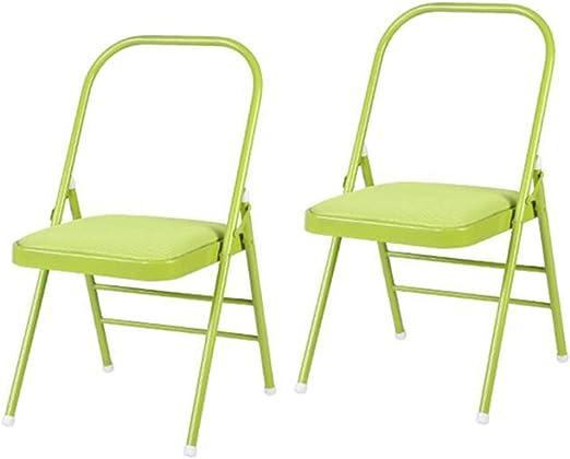 Amazon.com: CJC 2/4/6 Silla de yoga plegable sillas de malla ...