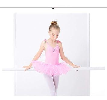 HXQXPY Gimnasia Danza Leotardo Traje de Ballet de Manga ...