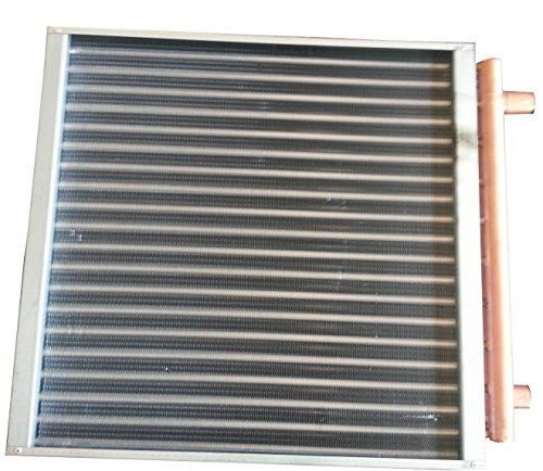 Air Heat Exchanger (20 X 19 Water to Air Heat Exchanger Hot Water Coil - American Royal)