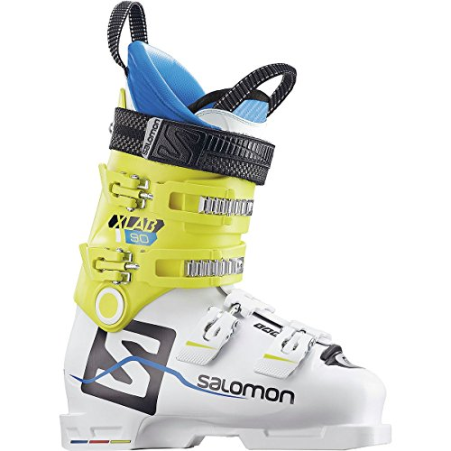 - Salomon X Lab 90 Ski Boot - Men's White/Yellow, 25.5