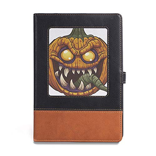 Travel Journal Diary noteBook,Halloween,A5(6.1