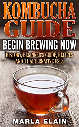 Energizer Drink - Kombucha Guide: Begin brewing now: History, Beginner's guide, recipes and 11 alternative uses (home brewing, probiotic tea, natural energizer)