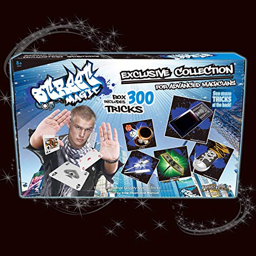 Street Magic Exclusive Collection with 300 Tricks Kit Advanced Card Magic Tricks