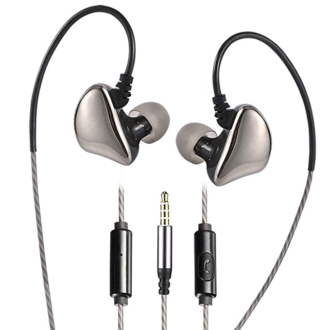 Providethebest Auriculares estéreo X6 HD Auriculares de Diadema Orejas Tipo de Cables de micrófono de Control al Aire Libre del Deporte del Auricular Hierro ...