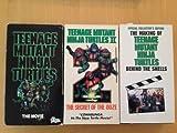 Teenage Mutant Ninja Turtle Part 1 and 2 with Bonus Behind the Scenes VHS