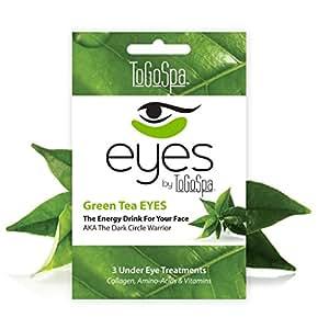 Green Tea Eyes - 1 pack - 3 Pair