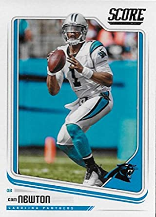 871cc6fbe Amazon.com: Football NFL 2018 Score #43 Cam Newton #43 NM+ Panthers ...