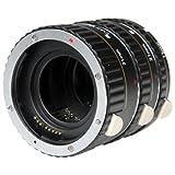 Vivitar 3-Set Macro Extension Tubes of Canon - Black (VIV-EXT-C)