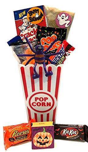 Halloween Gift - Halloween Care Package - Campus Care Package (Halloween Movie Night! Popcorn - (Halloween Dead Girl Prank)