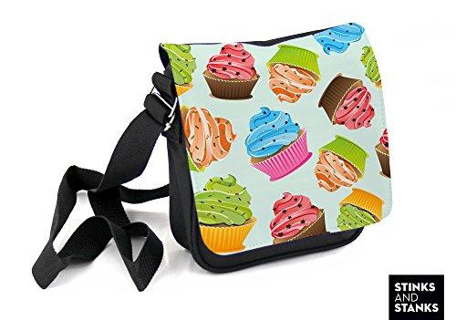 Custodia, Borsa a tracolla cupcake HTS027
