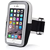 iPhone 6 Armband,iPhone 6S Sports Armband- Badalink Running Cell Phone Holder Case Arm Band Strap With Zipper...
