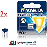 GWS-POWERCELL® VARTA PROFESSIONAL ELECTRONICS V11A jeweils im Einzelblister verpackt / NEU & OVP (V11A, 2 Stück)