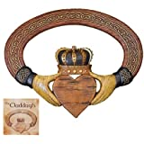 Abbey Press Claddagh Wall Hanging and Card - 54999T