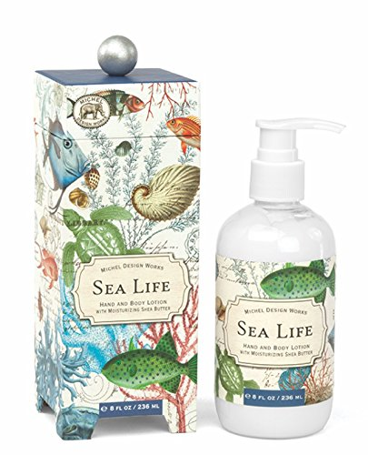 Michel Design Works Hand and Body Lotion, 8-Ounce, Sea Life
