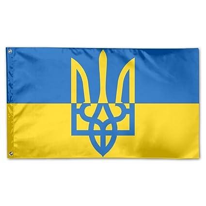 Amazon Yongchuang Feng Ukrainian Flag Home Garden Yard Flags 3
