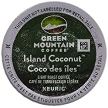Green Mountain Coffee Roasters Island Coconut Coffee K-Cups For Keurig Brewers, 24-Count