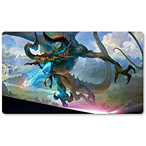 Nicol Bolas, The Ravager - Board Game MTG Playmat Table Mat Games Size 60X35 cm Mousepad Keyboard Pad for Yugioh Pokemon Magic The Gathering