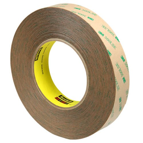 Discount 1inch width X60yd length 3M 9472LE 300LSE super-strong adhesive transfer tape (pack of 1) , DHL Shipping supplier