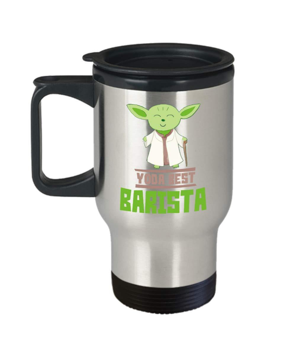 Amazon.com: Gift For Baristas - Yoda Best Barista Mug - Star Wars ...